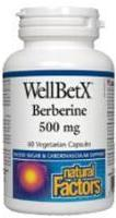 WellBetX Berberine 500 mg, 60 caps
