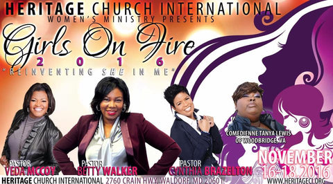 Girls On Fire (Apostle Cynthia Brazelton)