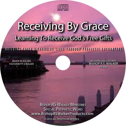 Receiving By Grace