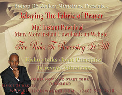 Relaying The Fabric of Prayer Part 2