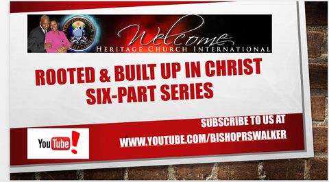 Rooted and Built Up In Christ CD & DVD Set