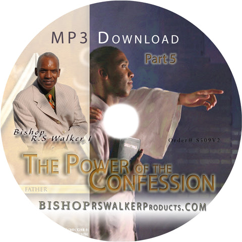 Standing On The Confession You Craft - MP3 Instant Download Pt5