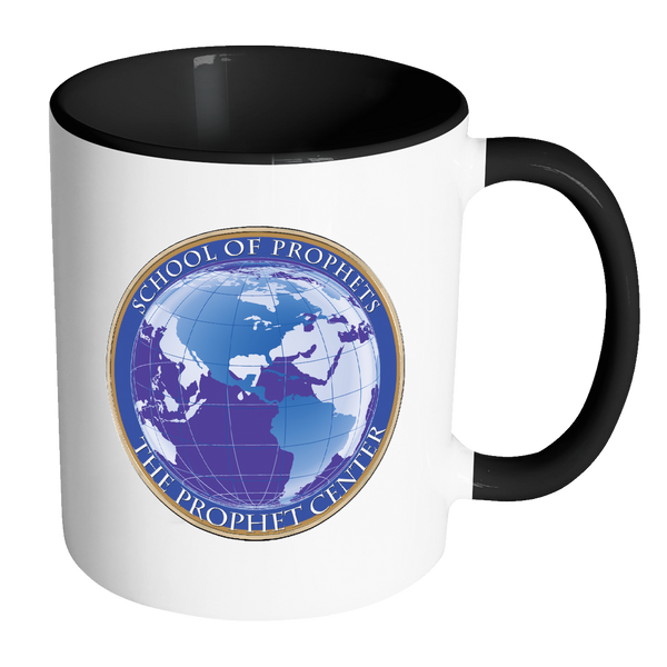 School of Prophets Coffee Cup With Official Blue Seal