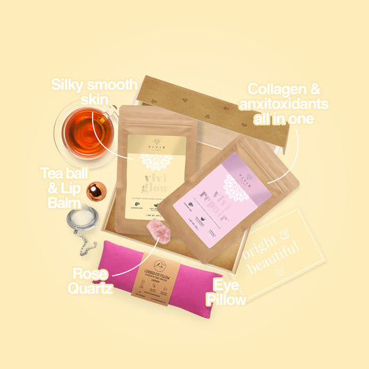 Bright & Beautiful Organic Tea Box (with collagen)