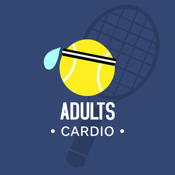 Adult Classes 2019 - NEW 8 Week Spring Cardio Tennis