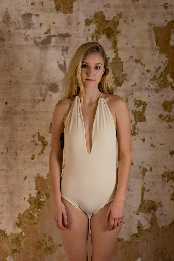 Honeymooner Cream Monokini