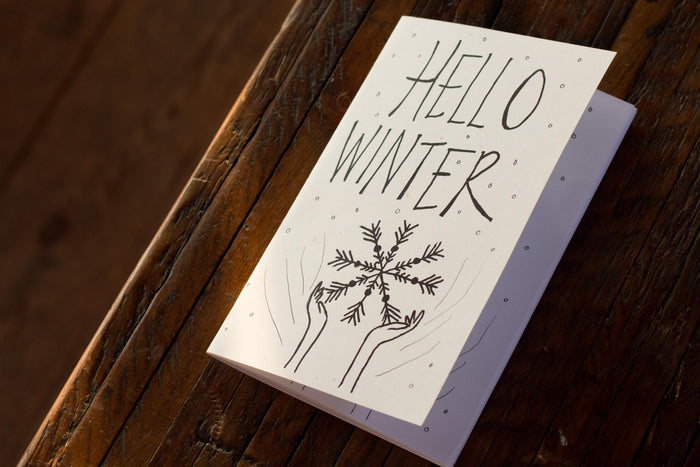 Hello Winter Zine by Sadie Rose