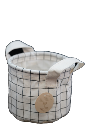 #Fabric basket check