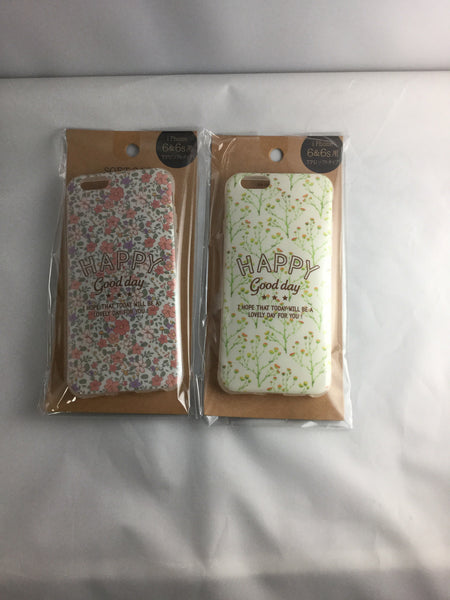 iPhone 6s case soft flower