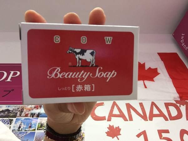 Cow milk soap red box 100g