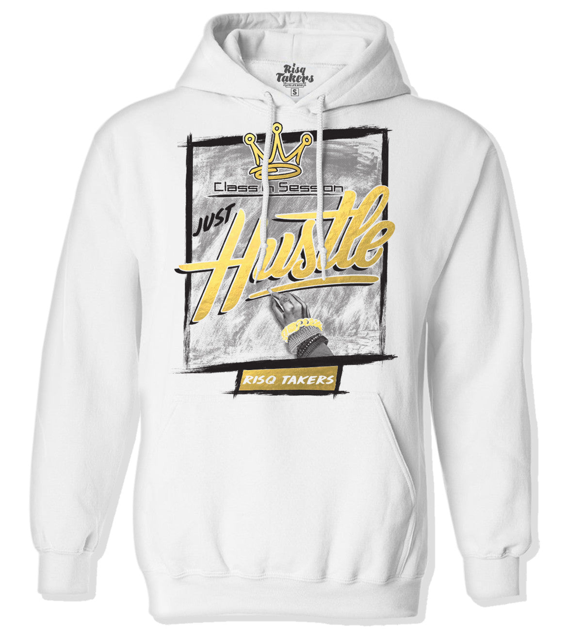Class in Session Hoodie 24K Gold Foil