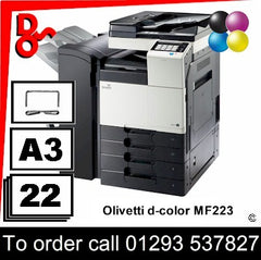Olivetti d-Color MF223 MFP Printer - Toners, Drums, Fuser Units and Transfer Belts, Spare Parts & Accessories Next Day UK Delivery