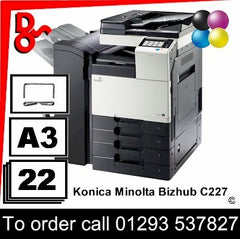 Konica Minolta Bizhub C227 MFP Printer - Toners, Drums, Fuser Units and Transfer Belts, Spare Parts & Accessories Crawley West Sussex Next Day UK Delivery