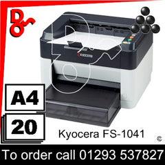 Kyocera FS-1041 A4 Printer UK Next day delivery for sale Crawley, West Sussex & Surrey