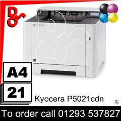 Consumable Supplies for Kyocera P5021cdn - Toners, Maintenance Kits, Spare Parts & Accessories Next Day UK Delivery