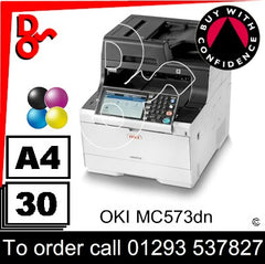 OKI C573dn Colour A4 Printer Consumable Supplies - Toners, Drums, Maintenance Kits, Spare Parts & Accessories Next Day UK Delivery