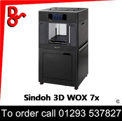 Sindoh 3D WOX 7x Printer supplier of Consumables etc