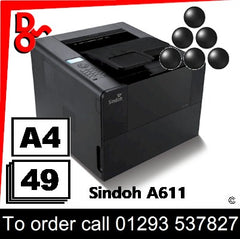 Sindoh A611 UK supplier of Consumables Toner Drums etc