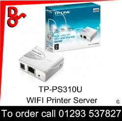 WiFi Printer Connector TP-Link TL-PS310U WiFi Print Server UK next week day delivery