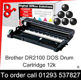 Brother Drum DR2100 DR-2100 Premium Compatible Quality Guaranteed for sale Crawley West Sussex and Surrey