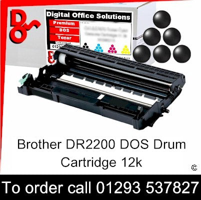 Brother Drum DR2200 DR-2200 Premium Compatible Quality Guaranteed for sale Crawley West Sussex and Surrey