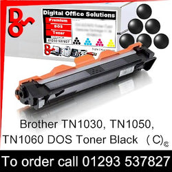 Brother Toner TN1050, TN-1050 Black Premium Compatible Quality Guaranteed for sale Crawley West Sussex and Surrey