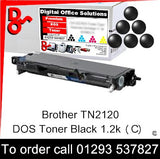 Brother Toner TN2120, TN-2120 Black Premium Compatible Quality Guaranteed for sale Crawley West Sussex and Surrey
