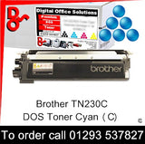 Brother Toner TN230C TN-230C Cyan Toner Premium Compatible Quality Guaranteed for sale Crawley West Sussex and Surrey