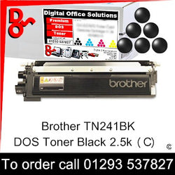 Brother Toner TN231BK TN-241BK Black Premium Compatible Quality Guaranteed for sale Crawley West Sussex and Surrey