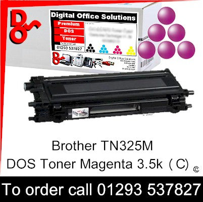 Brother Toner TN325M TN-325M Magenta Premium Compatible Quality Guaranteed for sale Crawley West Sussex and Surrey