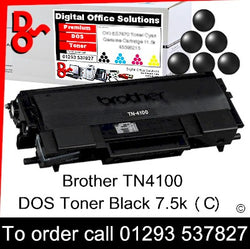 Brother Toner TN4100 TN-4100 Black Toner Premium Compatible Quality Guaranteed