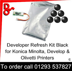 Developer Black Refurb Kit DV-214K, DV-311K, DV-313K, DV-512K, DV-619K