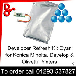 Developer Kit Cyan DV-214C, DV-311C, DV-313C, DV-512C, DV-619C