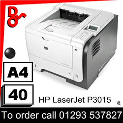 Clearance Printer Colour A4 HP P3015dn Laser Printer CE525A for sale Crawley West Sussex and Surrey