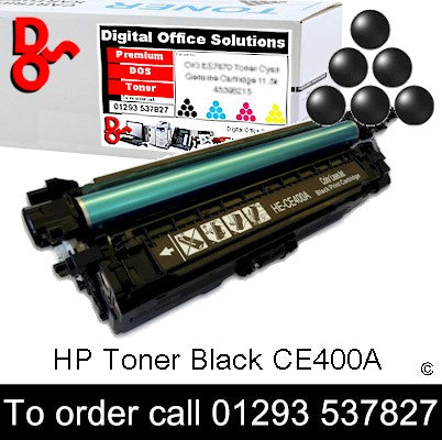 HP Toner 507A CE400A Black Premium Compatible Quality Guaranteed for sale Crawley West Sussex and Surrey