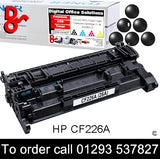 HP Toner 26A CF226A Black Premium Compatible Quality Guaranteed for sale Crawley West Sussex and Surrey