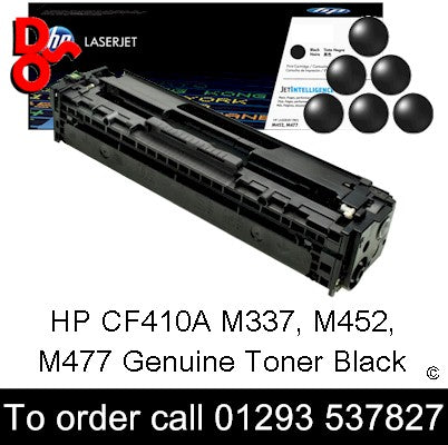 HP Toner 410A CF410A Black Premium Compatible Quality Guaranteed for sale Crawley West Sussex and Surrey
