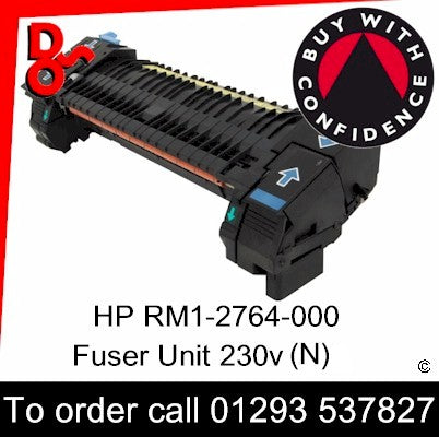 HP Spare Part, Fuser Unit, RM1-2764-000 New Fuser 230v for sale Crawley West Sussex and Surrey