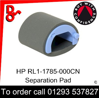 HP Spare Part, Paper Feed T1, RL1-1802-000CN, RL1-1802-000, RL1-1802 Roller, Paper Pickup for sale in stock at our Crawley warehouse today for fast, UK wide delivery with a 12 month guarantee