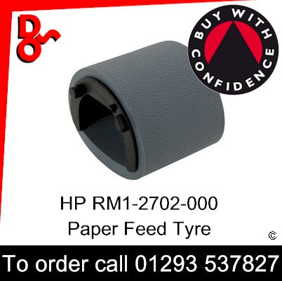 HP Spare Part, Paper Feed T2, RM1-2702-000 Pickup Roller Assembly (250 sheet tray) for sale Crawley West Sussex and Surrey
