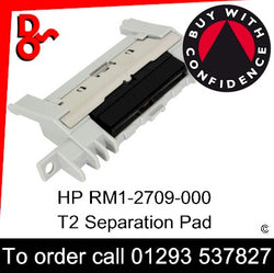 HP Spare Part, Paper Feed T2, RM1-2709-000 Separation Pad Assembly (250 sheet tray) for sale Crawley West Sussex and Surrey