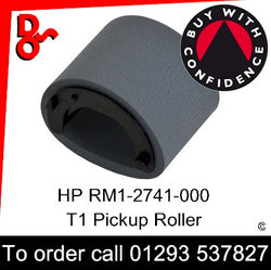 Call 01293 537827   Pickup Roller Assembly (MP Tray)    HP Spare Part RM1-2741-000