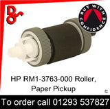 HP Spare Part, Paper Feed T2, RM1-6323-000CN, RM1-6313-000CN, RM1-3763-000, RM1-3763 Roller Paper Pickup for sale in stock at our Crawley warehouse today for fast, UK wide delivery with a 12 month guarantee