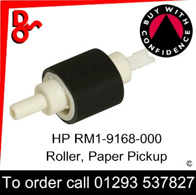 HP Spare Part, Paper Feed T2, HP RM1-9168-000CN, RM1-9168-000, RM1-9168 Roller, Paper Pickup for sale in stock at our Crawley warehouse today for fast, UK wide delivery with a 12 month guarantee