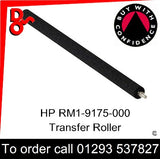 HP Spare Part, Transfer, RM1-9175-000CN, RM1-9175-000, RM1-9175 Transfer Roller Assembly for sale in stock at our Crawley warehouse today for fast, UK wide delivery with a 12 month guarantee