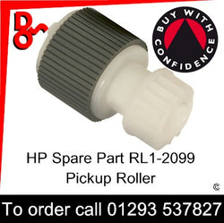 Paper Pickup Roller (500 sheet tray)  HP Spare Part RM1-2099, RM1-2099-000