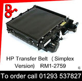 HP Spare Part, Transfer, RM1-2759, RM1-2759-000 Transfer Belt Assy (simplex version)