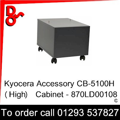 Kyocera Accessory CB-5100L (Low) Cabinet - 870LD00109