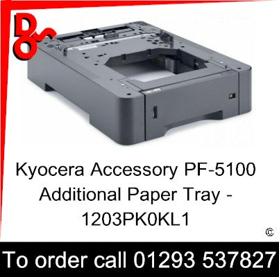 Kyocera Accessory PF-5100 Additional Paper Tray - 1203PK0KL1