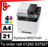 NEW Kyocera M2251cdn Colour A4 MFP Printer - 1102RA3NL0 Crawley West Sussex and Surrey